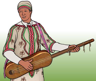 モロッコの ゲンブリ Guembri (Sintir)