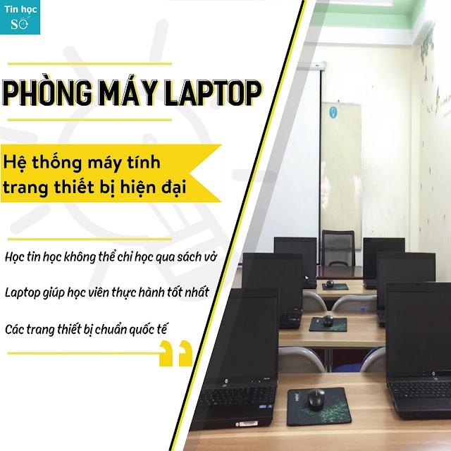 Học MOS 2013 có laptop tại hải phòng