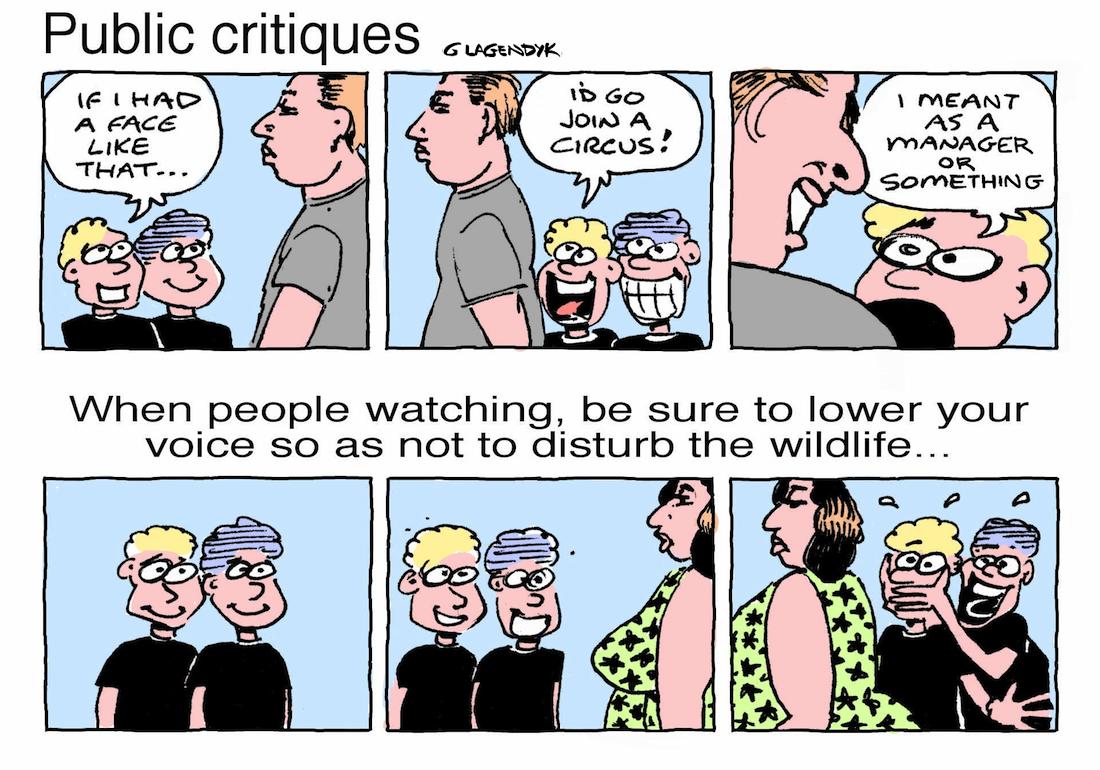 irritating kids cartoon, people watching cartoon