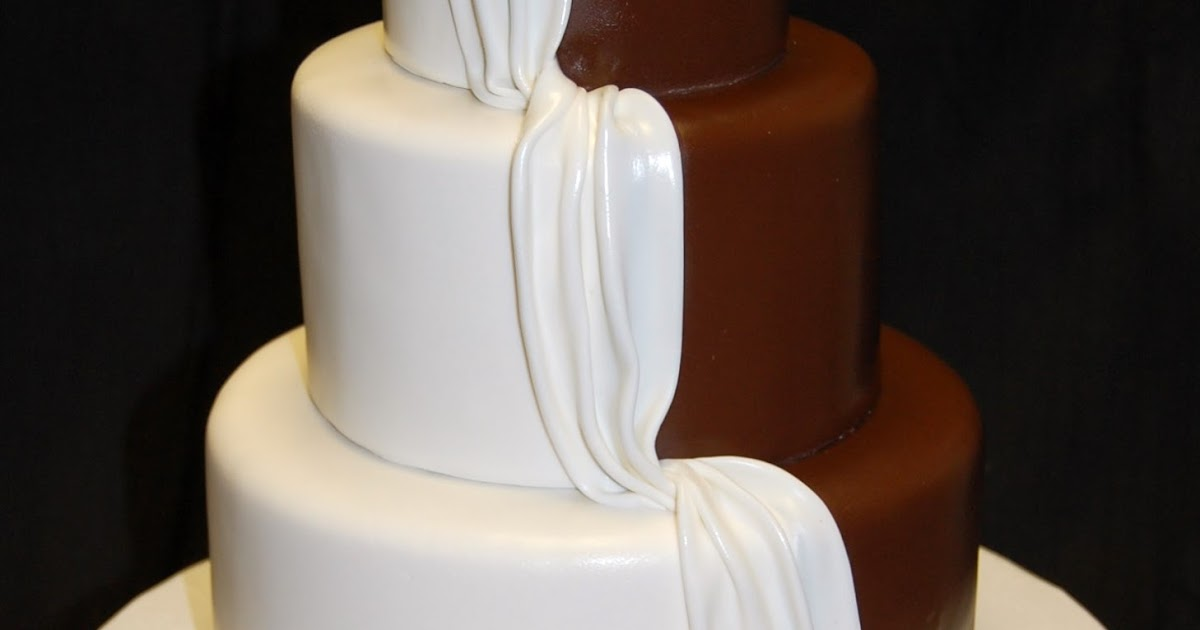 """Drea's Dessert Factory: """"His And Hers"""" Wedding Cake"""