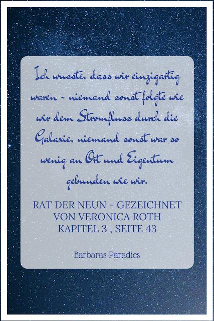 Buchrezension #123 Rat der Neun - Gezeichnet von Veronica Roth