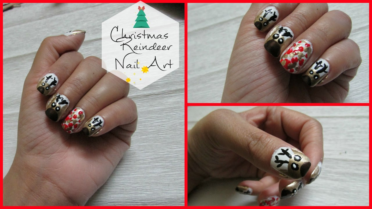 Reindeer Christmas Nail Art,Christmas Nail Art, Christmas Nail , Reindeer, christmas, festive nails, easy christmas nails, easy nail art, easy nail designs for christmas, easy nail art,beauty , fashion,beauty and fashion,beauty blog, fashion blog , indian beauty blog,indian fashion blog, beauty and fashion blog, indian beauty and fashion blog, indian bloggers, indian beauty bloggers, indian fashion bloggers,indian bloggers online, top 10 indian bloggers, top indian bloggers,top 10 fashion bloggers, indian bloggers on blogspot,home remedies, how to