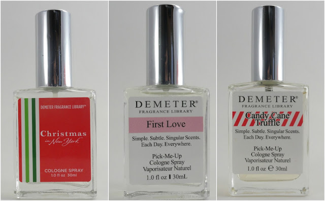 Demeter - Christmas in New York + First Love + Candy Cane Truffle