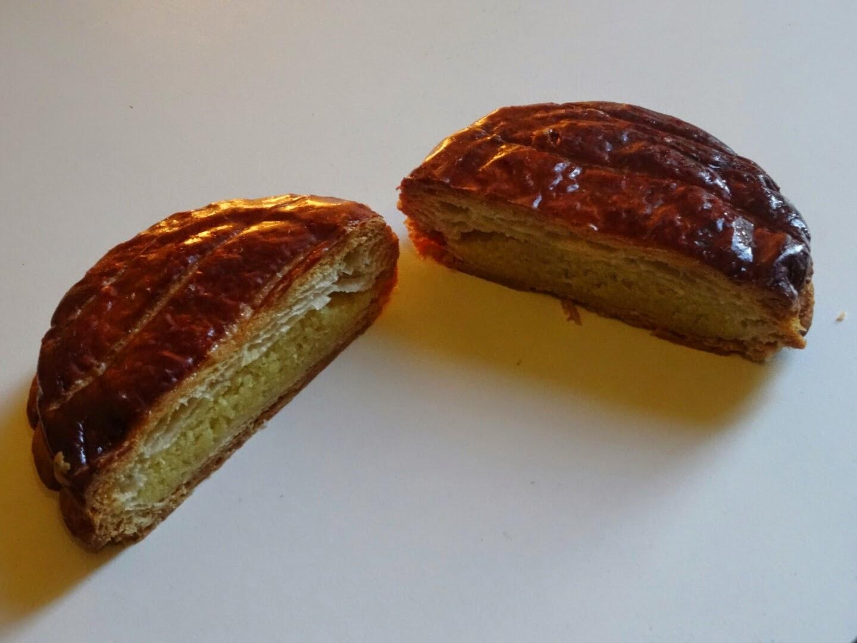 Coupe de la galette des rois pâtisserie Cyril Lignac.