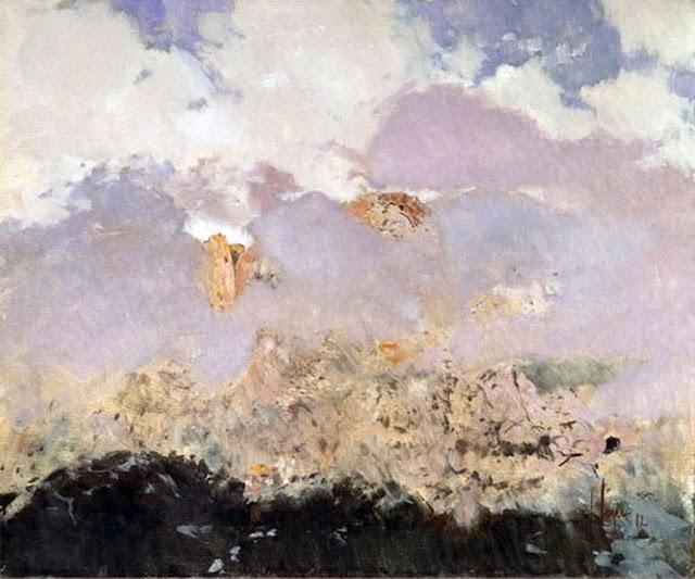 Isidoro Lázaro Ferré, Nubes de Mallorca, Mallorca en Pintura, Mallorca pintada, Paisajes de Mallorca