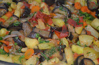 Соте из овощей: Цветная вкуснота!