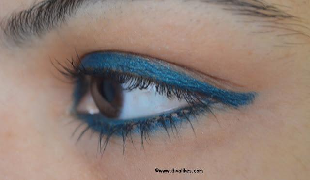 Maybelline Colossal Kohl Jewelled Jade Eye Swatch