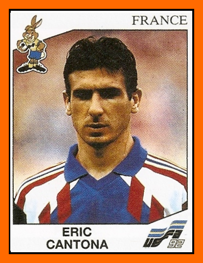 Details the football games eric cantona played for manchester united, leeds united and the french national team as well as potted summaries of his career in. Old School Panini Top 5 The Worst Of Eric Cantona In France