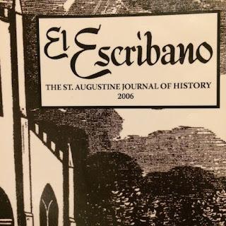 partial cover of El Scribano journal