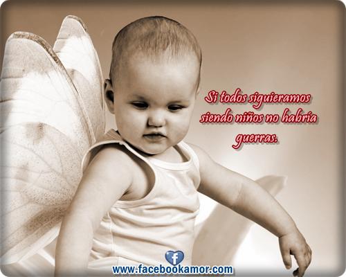Imagenes De Bebes Con Frases De Amor: Imagenes De Niños Con Frases Para Compartir En Facebook