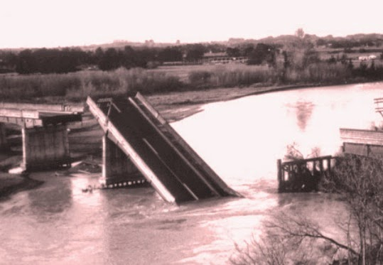 Collapsed Bull's Road Bridge