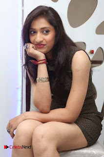 Actress Anusha Latest Picture Gallery in Black Short Dress  0005
