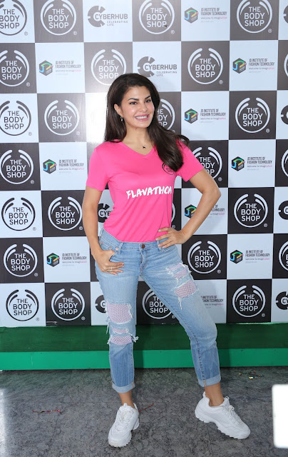 BODY YOGURTS was launched by Brand Ambassador Jacqueline Fernandez
