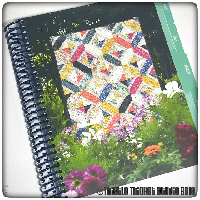 Thistle Thicket Studio, The Quilter's Planner, quilt planner, Spinners Block Pattern