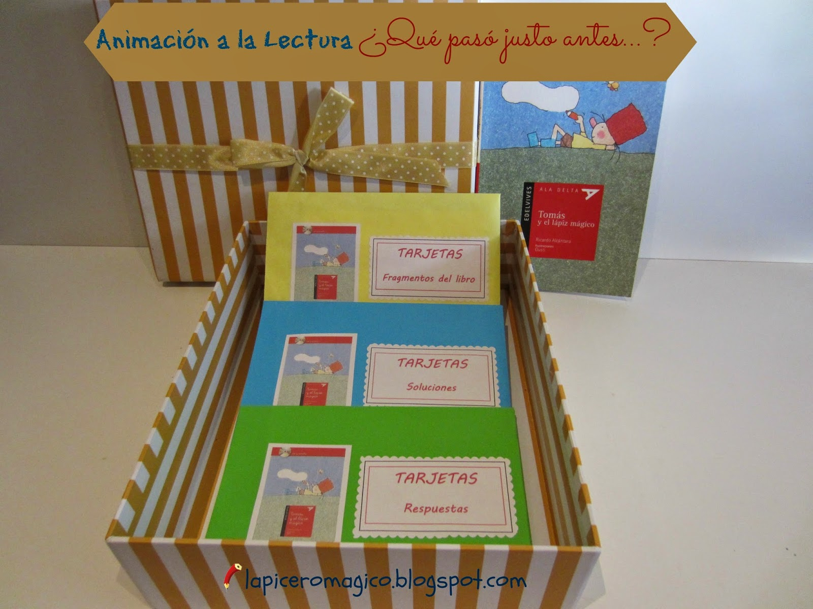 Lapicero m gico estrategia de animaci n a la lectura for Caja de colores jardin infantil