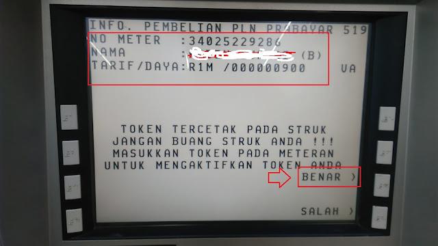 Cara Beli Voucher Listrik Di ATM BCA