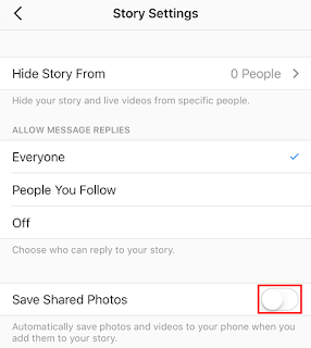 Instagram Saved Shared Photos