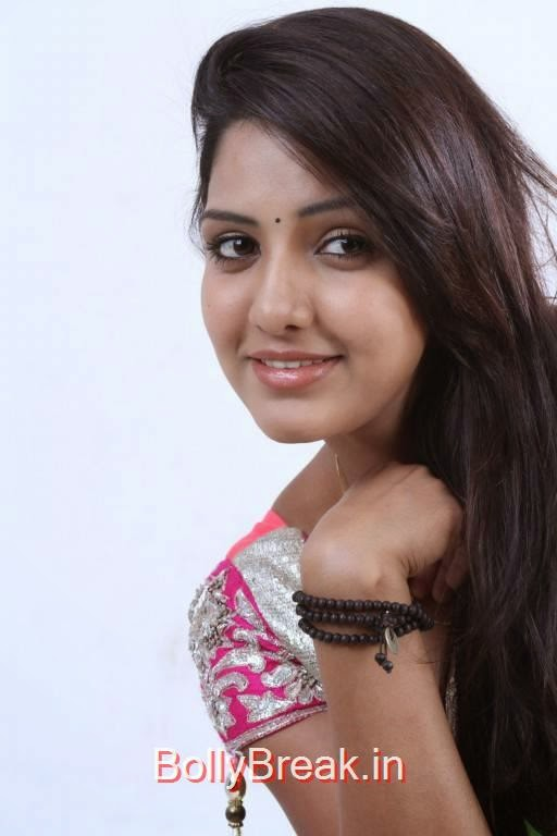 Telugu Actress Pavani Reddy, Pavani Reddy Hot Face Close up Images in HD