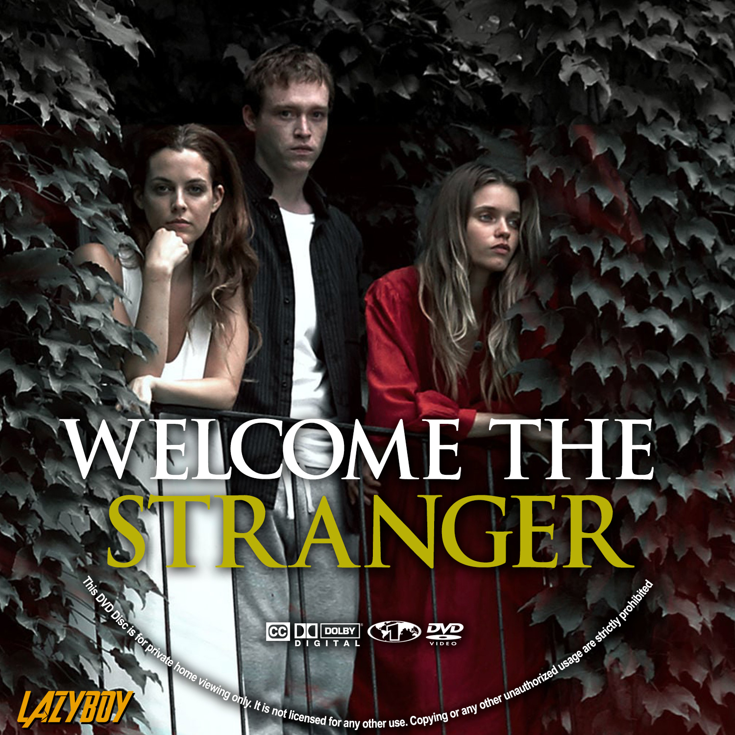 welcome the stranger dvd label cover addict freecovers