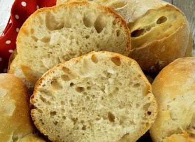 Weizen-Dinkel-Brötchen