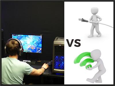Ethernet Vs WiFi untuk Game