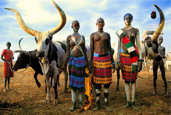 Image result for Dinka_people