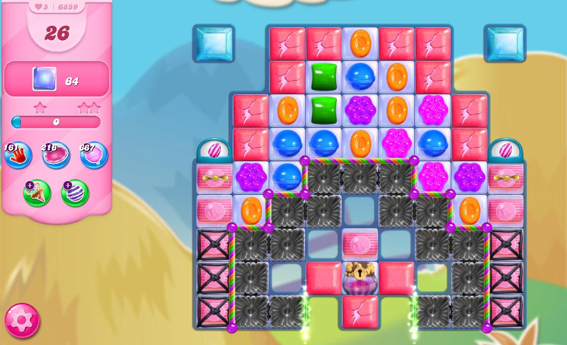 Candy Crush Saga level 6859