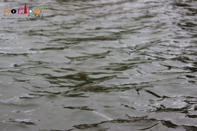 Ripples in kodai lake
