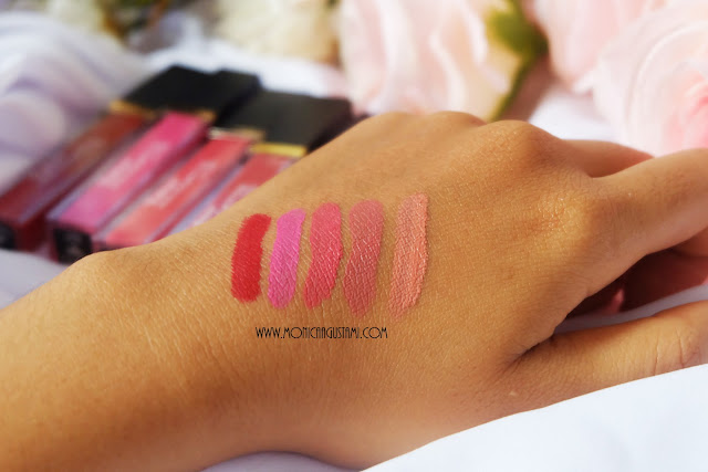 review purbasari high matte lip cream