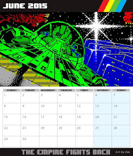 Sunteam: Calendario ZX Spectrum 2015