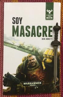 Portada del libro Soy Masacre, de Dan Abnett