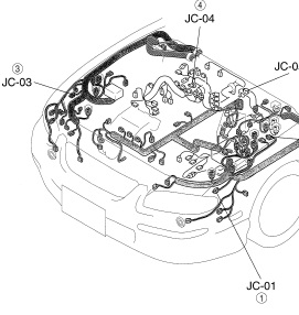 Mazda Millenia Repairmanual on 1996 Mazda Millenia Wiring Diagrams
