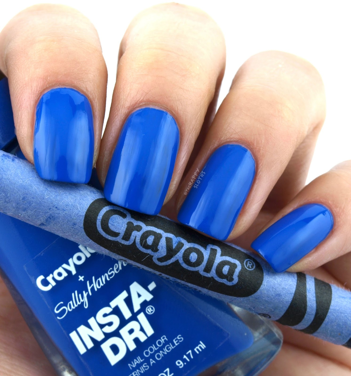 Sally Hansen + Crayola Collection | 512 Denim: Review and Swatches