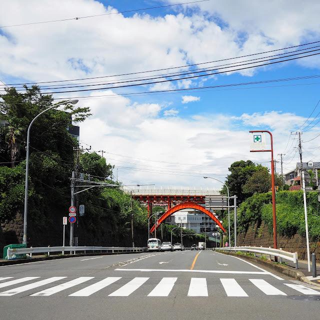 横浜 山元町 打越橋