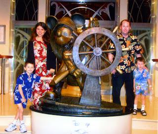 Walt Disney World cruise line.