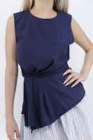 Tricou Zara Dama Blue Ivy