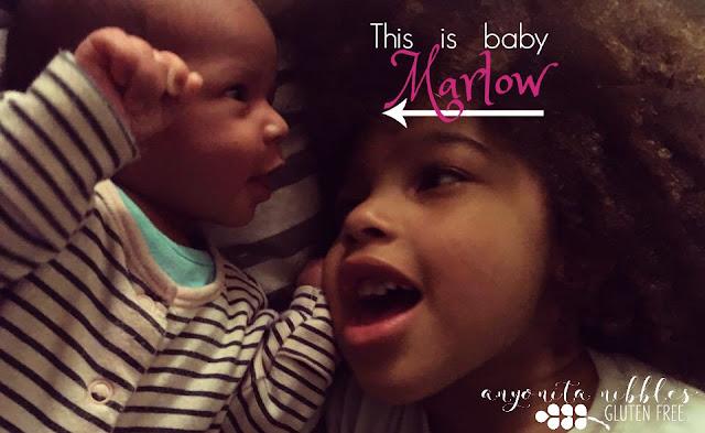 Introducing baby Marlow | Anyonita Nibbles