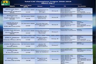 القنوات الناقلة المجانية الناقلة لمباريات الأهلي والإسماعيلي في دوري الأبطال