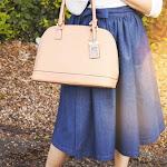 DIY Marc Jacobs Wrap Denim Skirt