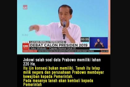 Ngawurnya Petahana Serang Prabowo
