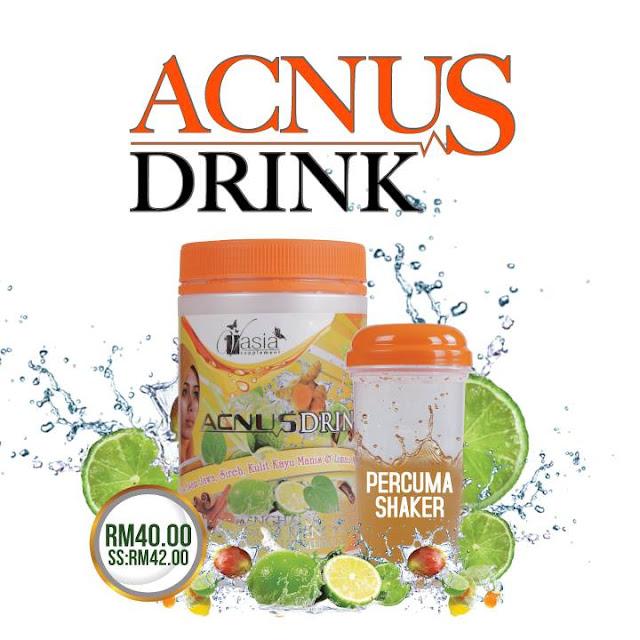 Testimoni Acnus Drink V'asia
