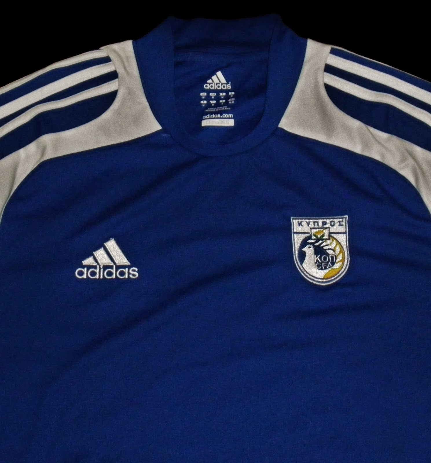brand new 0a1e0 81079 Football Shirts Collection in Japan: Cyprus National team 08 ...
