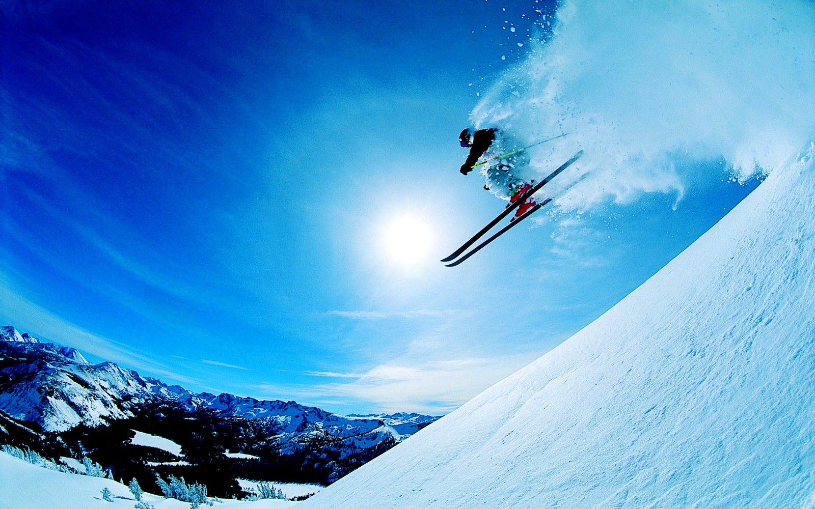 Central Wallpaper: Skiing Winter Sports HD Wallpapers