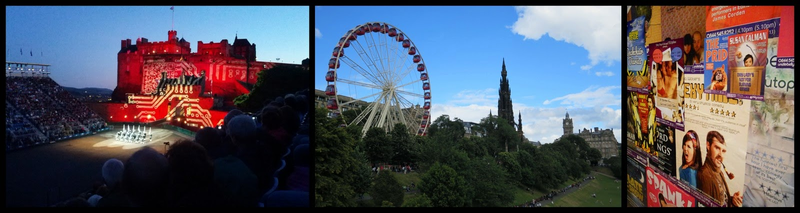 Ryanair Weekend Destination Ideas: Edinburgh Fringe in August