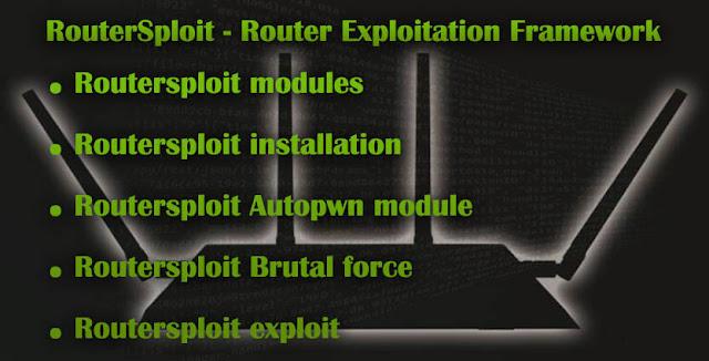Router Exploitation Framework