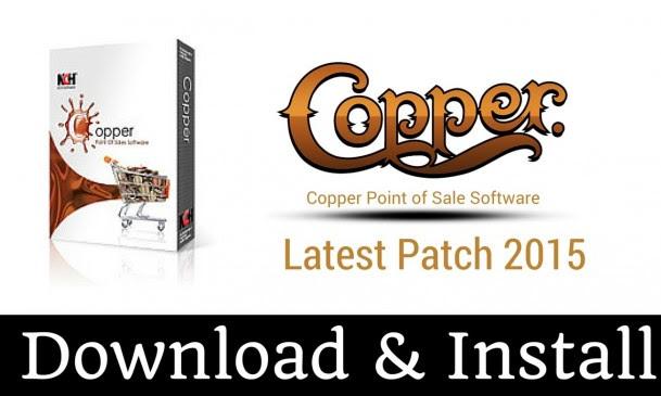 Copper Point of Sales Software 1.39 full crack Terbaru