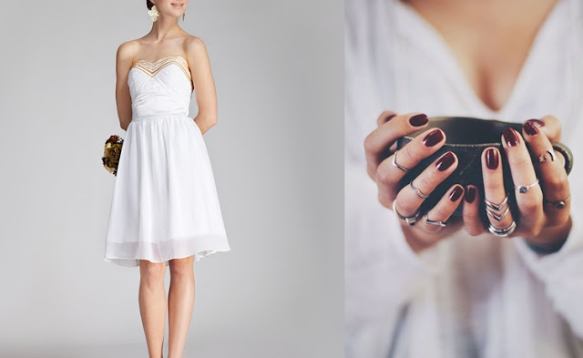 Beyaz Renk Elbiseye Ne Renk Oje Uyar?