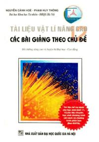 Tài Liệu Vật Lý 12 Nâng Cao - Nguyễn Cảnh Hòe