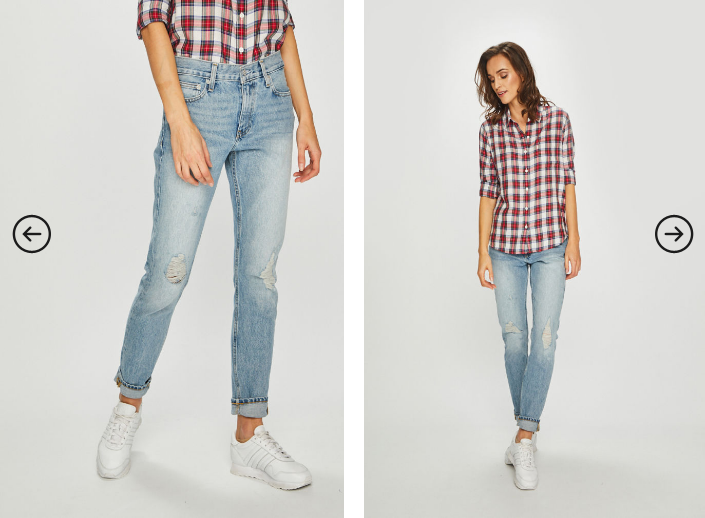 Calvin Klein Jeans - Jeansi albastri 2019 moderni