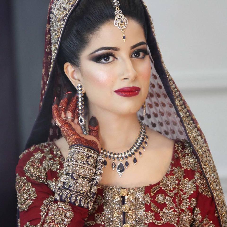 Natasha Salon Bridal makeup